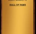 Hall of Fame 1964