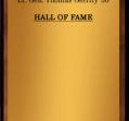 Hall of Fame 1965