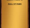 Hall of Fame 1966