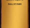 Hall of Fame 1968