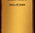 Hall of Fame 1972