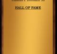 Hall of Fame 1974