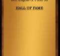 Hall of Fame 1976