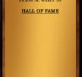 Hall of Fame 1981