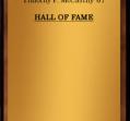 Hall of Fame 1983