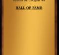 Hall of Fame 1986