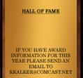 Hall of Fame 1987