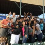 """Leo Men and friends in Crestwood for a Windy City Thunderbolts Game on Friday June 6th ~ A good time had by all!"""