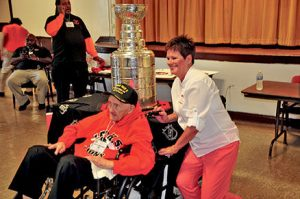 Jack Schaller Stanley Cup at Leo Sept 2015